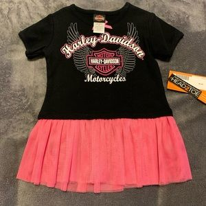 Harley-Davidson Toddler Tutu Shirt
